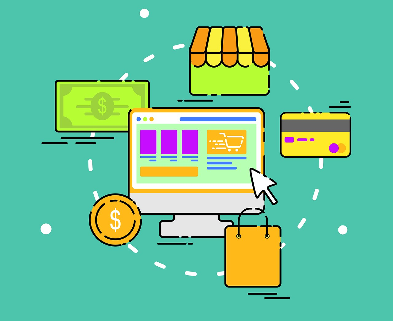 E-commerce Business | How to Manage an E-commerce Website? | HYF Technologies